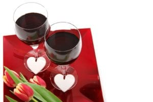 What is good for the heart: red wine
